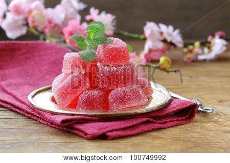 berry fruit homemade jujube sweet summer dessert