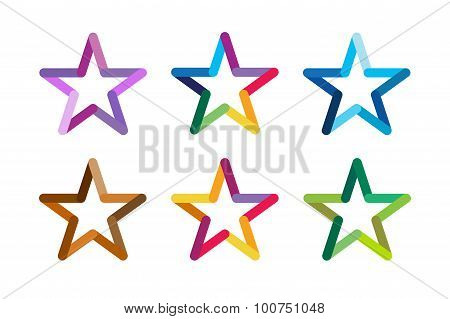 Star vector logo icon leader boss