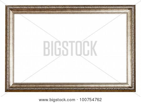 Baroque Style Sliver Wooden Picture Frame