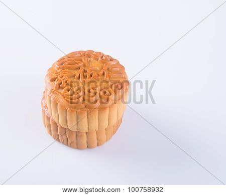 Mooncake, The Chinese Words On The Mooncake Is Not A Logo Or Trademark