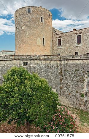 Tower of castle aragonese