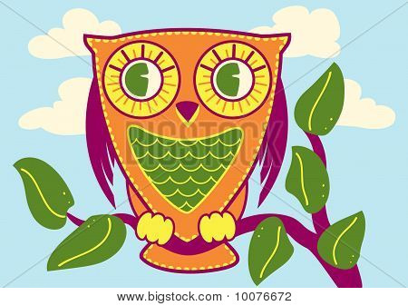 Friendly Owl