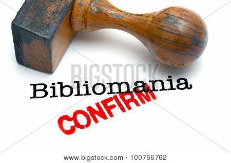 Bibliomania Confirm