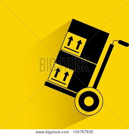 trolley and box