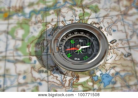 Navigation: Compass And A Map.