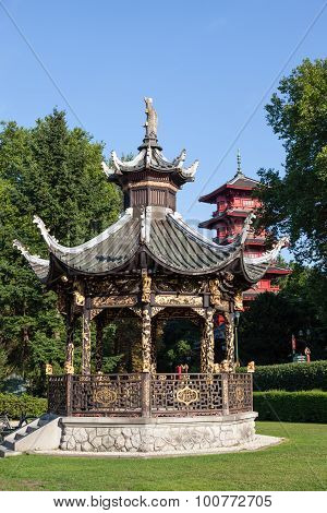 Chinese Kiosk At The Museums Of The Far East, Brussels