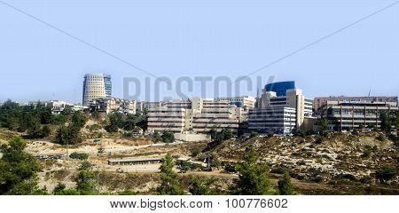 Modern Jerusalem Panorama