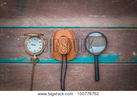Equipment For Traveling On Wooden