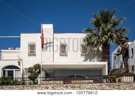 Exterior Of The Zeki Muren Museum In Bodrum, Turkey