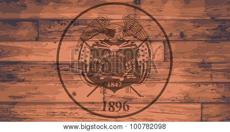 Utah State Flag Brand