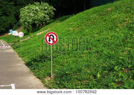 No Turning Back Sign