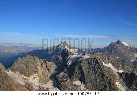 View From The Titlis, Swiss Alps