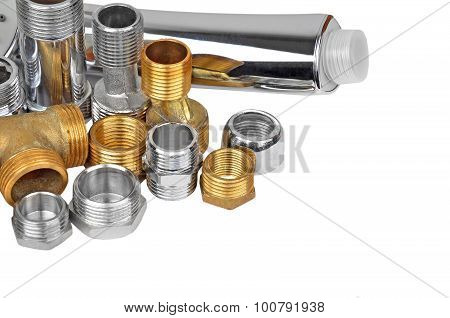 Plumbing fitting and showerhead