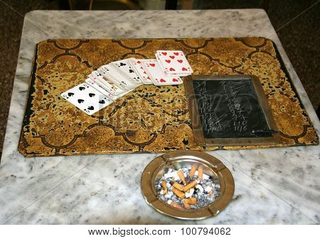After A Game Of Cards