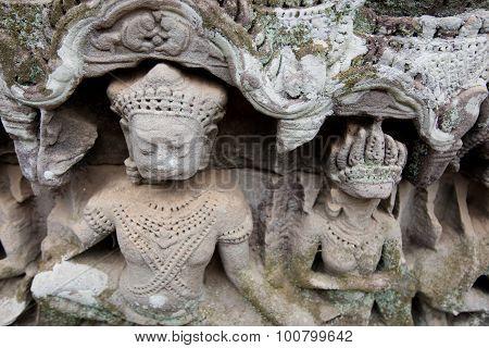 Carving at Angkor