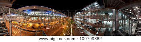 urban parking garage