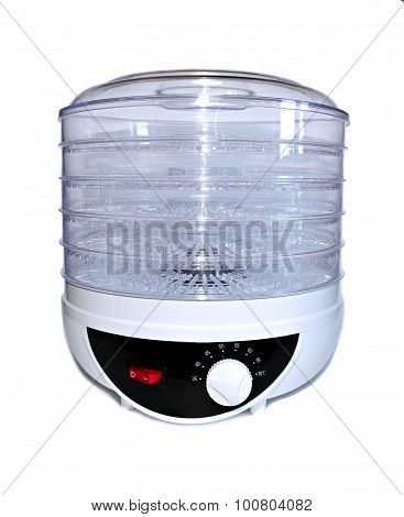 Electric Dryer For Fruits And Vegetables Isolated
