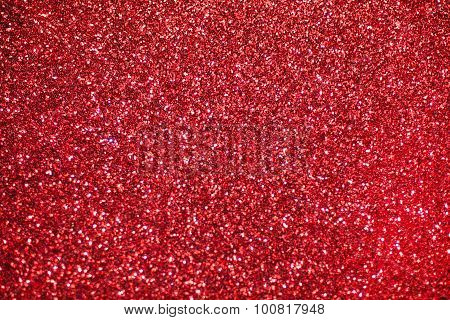 Red glitter shiny background