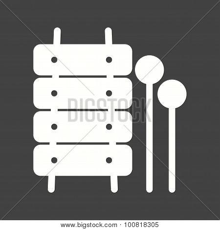 Xylophone Toy Icon
