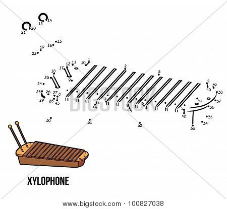 Numbers Game For Children: Musical Instruments (xylophone)