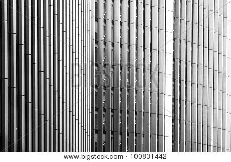 Modern Building Vertical Abstract Design