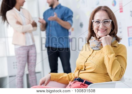Woman Developing Her Career