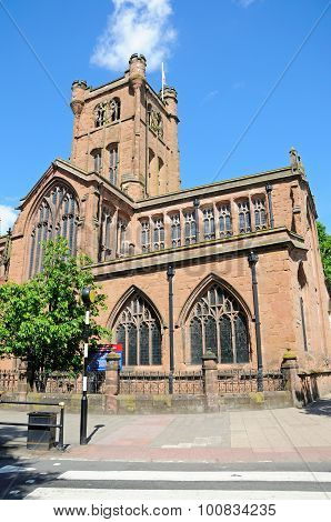St John the Baptish church, Coventry.