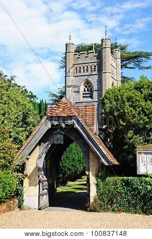 Hambledon Church.