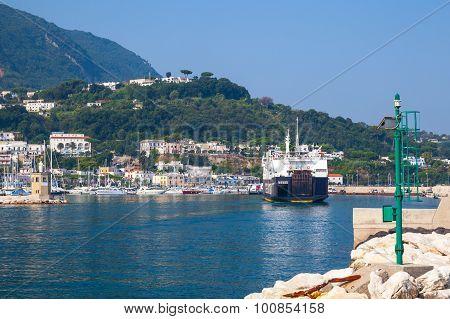 Casamicciola Terme Port, Ischia Island, Ferry