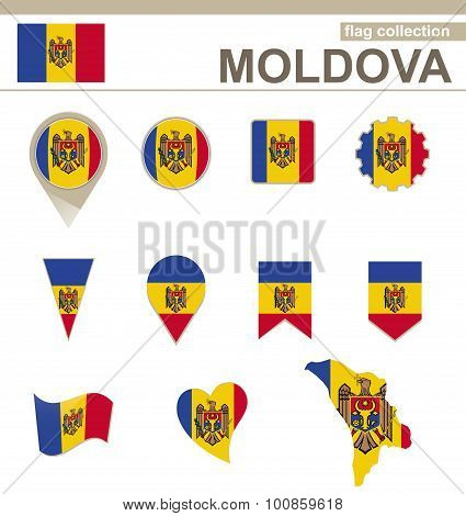 Moldova Flag Collection