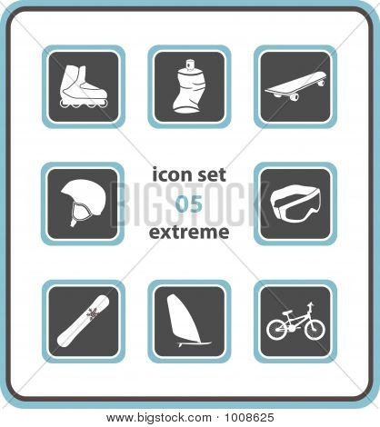 Vector Icon Set 05: Extreme