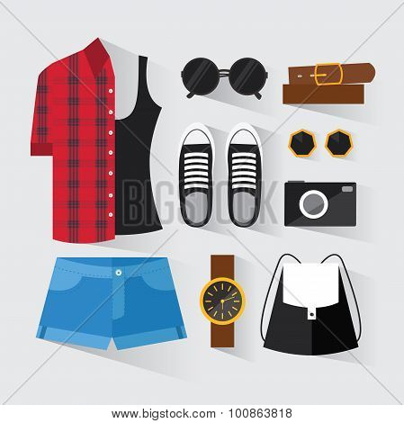 Woman Modern Clothing Set