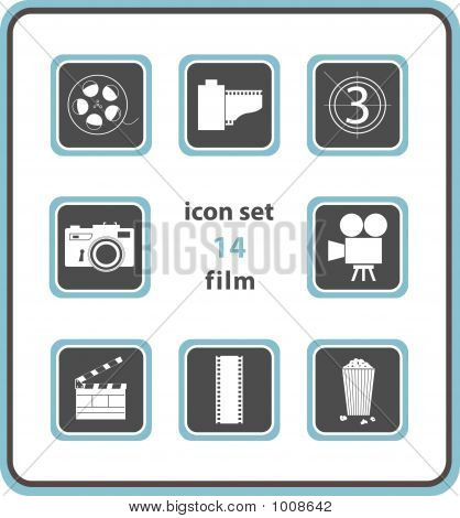 Vector Icon Set 14: Film