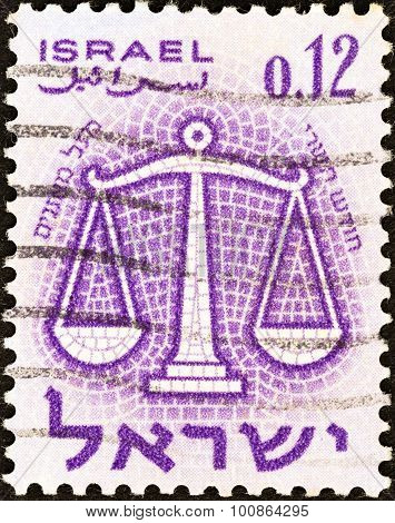 ISRAEL - CIRCA 1961: A stamp printed in Israel from the