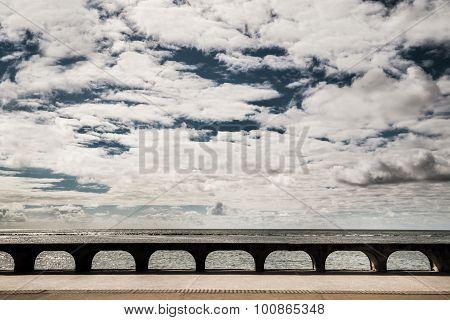 Walkway View On The Beach In Olinda