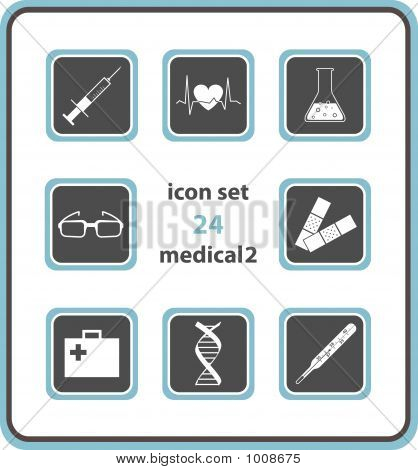Vector Icon Set 24: Medical 2