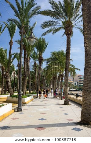 Embankment Of Benidorm