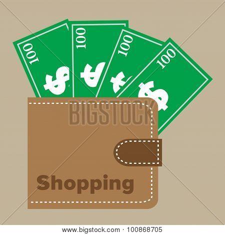 Shopping wallet