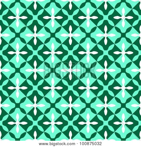 Geometric Crosses Pattern