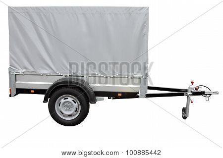 Grey Car Trailer