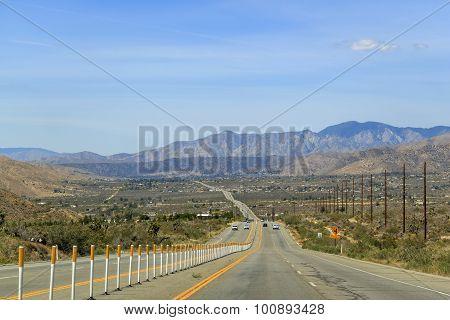 Landscape Near Joshua Tree National Park