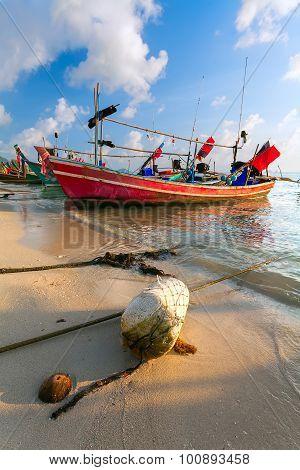 Red Boat, Beach