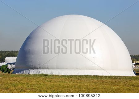 White Air Dome