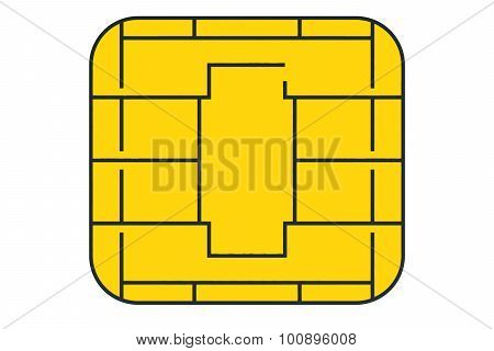 Golden Card Chip