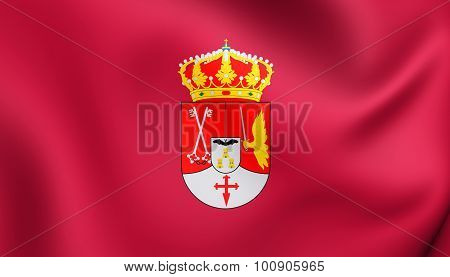 Flag Of Albacete Province, Spain.