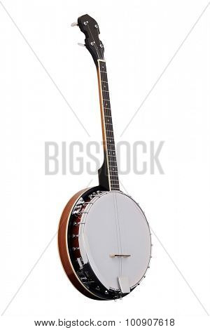 The image of a banjo