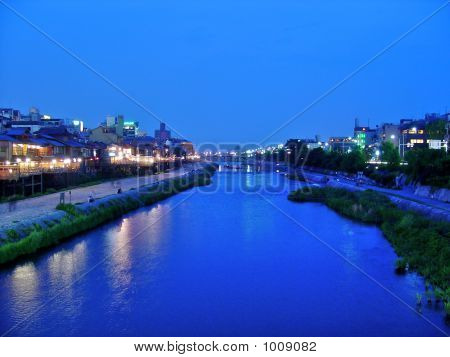 River At Gion