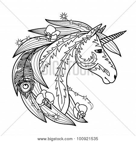 Ornamental Unicorn