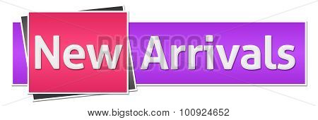 New Arrivals Pink Purple Horizontal