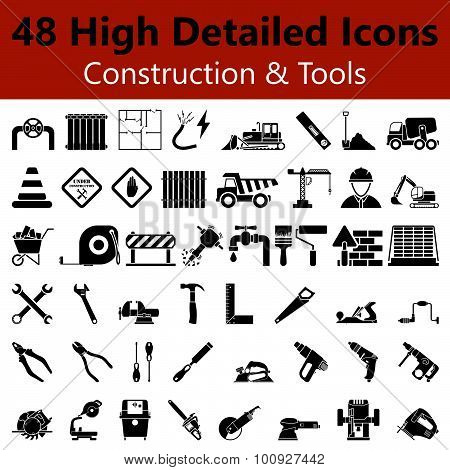 Construction And Tools Smooth Icons